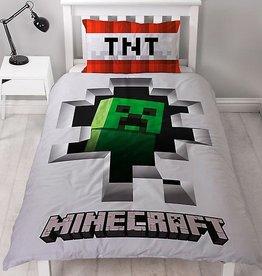 Minecraft Dekbedovertrek Dynamite Cotton