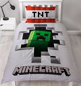 Minecraft Dekbedovertrek Dynamite Katoen