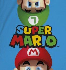 Super Mario Handdoek  Mario Luigi