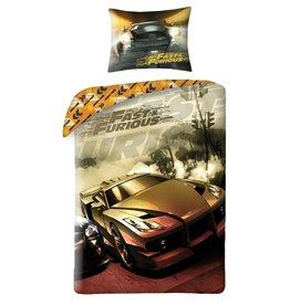 Fast & Furious Dekbedovertrek Eenpersoons 140 x 200 cm