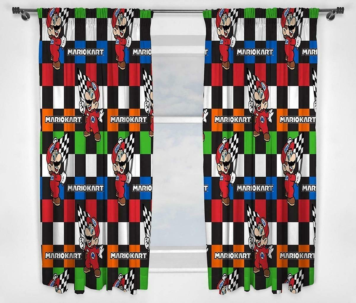 Nintendo Super Mario Curtains Champs