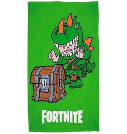 Fortnite Badlaken 70x140cm 100% Katoen Dino