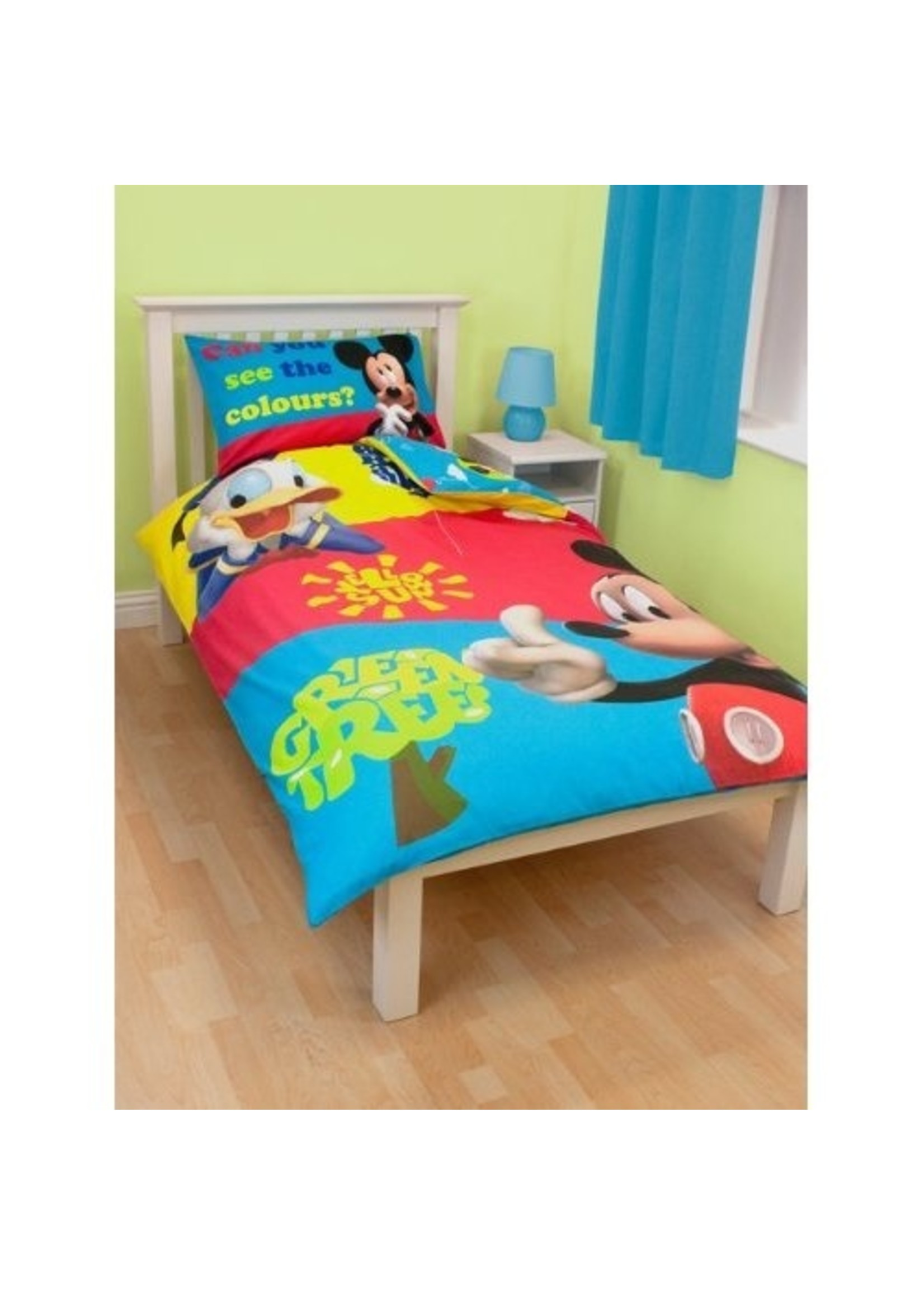 Disney Mickey Mouse Dekbedovertrek Donald Duck Clubhuis