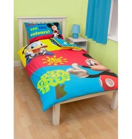 Disney Mickey Mouse Duvet Cover Clubhouse