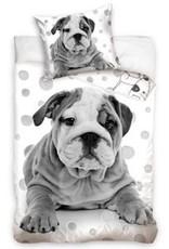 BedTex Bulldog Dekbedovertrek Hond Stippen