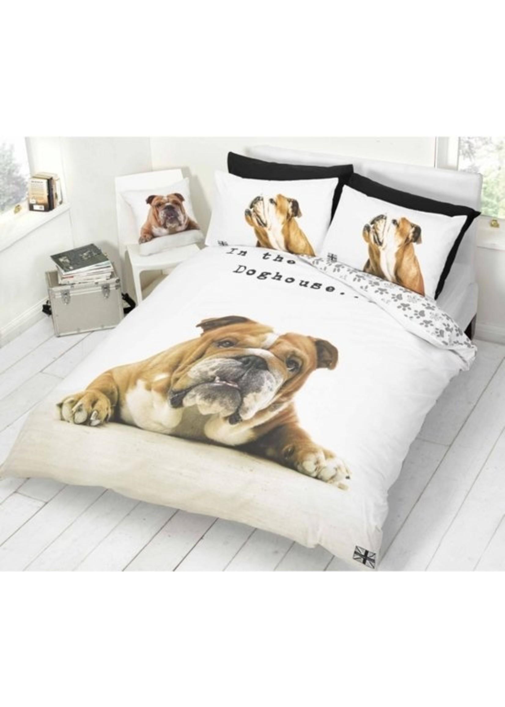 Bulldog Dekbedovertrek Hond
