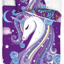 Carbotex Graceful Unicorn Dekbedovertrek