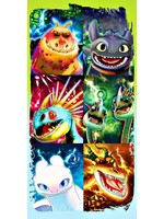 Dreamworks How to Train your Dragon Hand towel