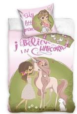 Carbotex Girl & Unicorn Dekbedovertrek