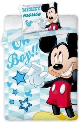 Disney Mickey Mouse Junior Dekbedovertrek Oh Boy
