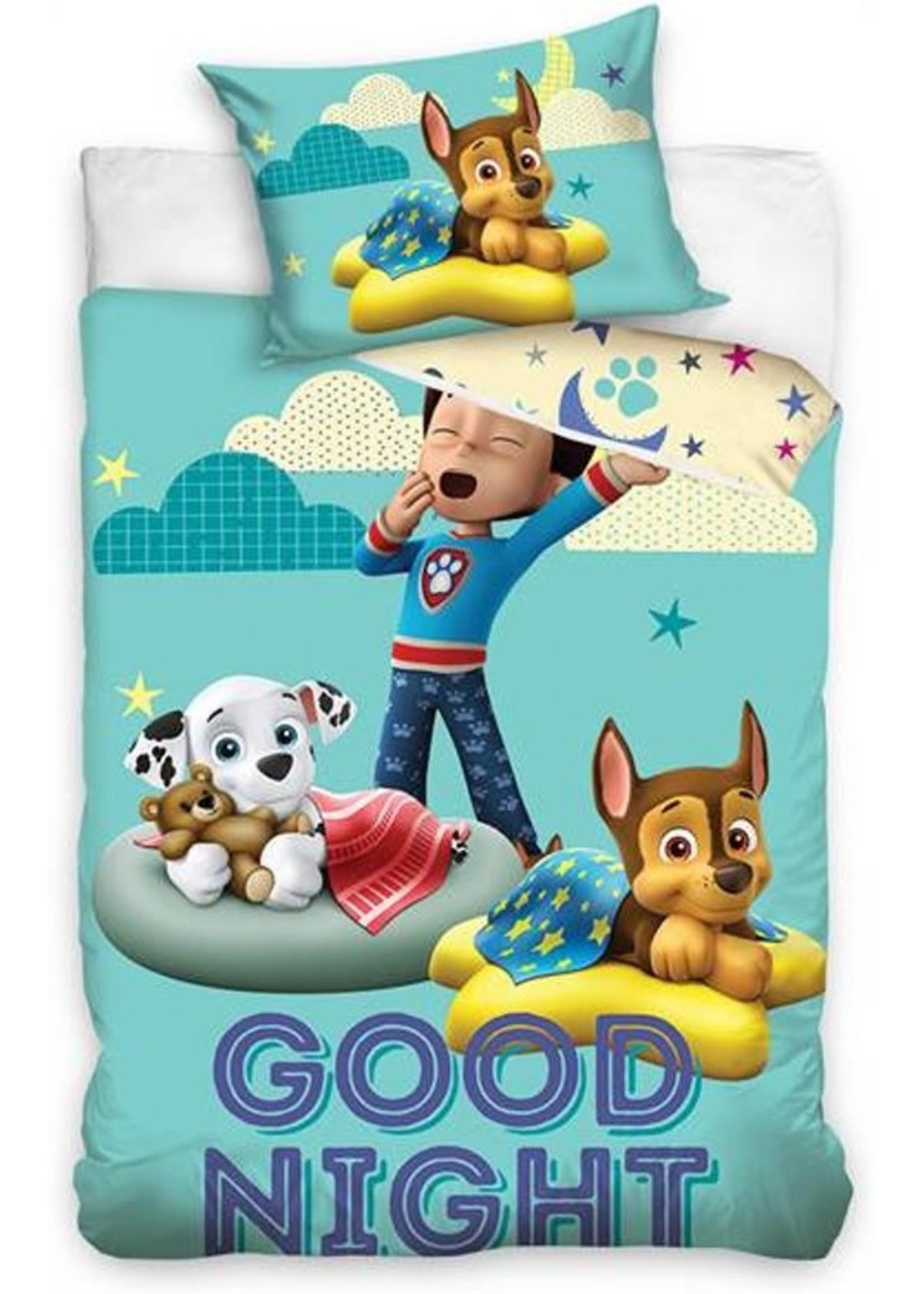 Nickelodeon Paw Patrol  Paw Patrol Junior Dekbedovertrek GOOD NIGHT