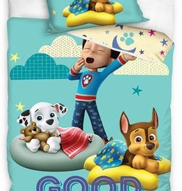 Nickelodeon Paw Patrol  Paw Patrol Junior Dekbedovertrek GOOD NIGHT