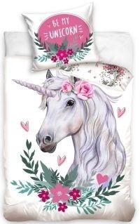 Carbotex Be My Unicorn Dekbedovertrek