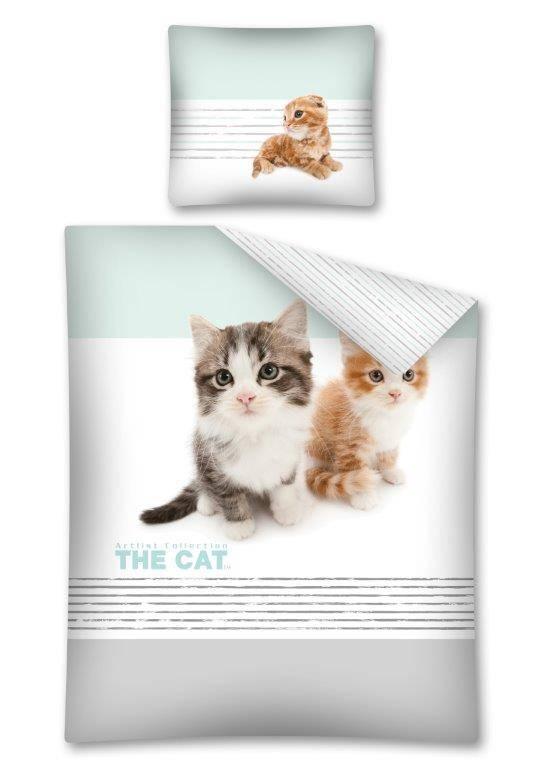 Katten Poesjes Dekbedovertrek The CAT