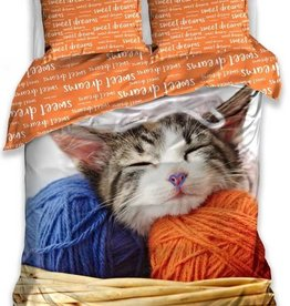 Carbotex Cat Kitty Duvet Cover Sweet Dreams