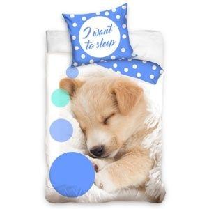 CharactersMania Puppy Hond Dekbedovertrek Slaap