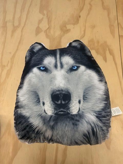 Husky Dog Cushion
