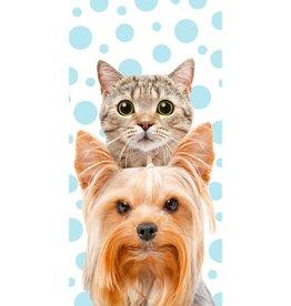 CharactersMania Cat & Dog Bath Towel