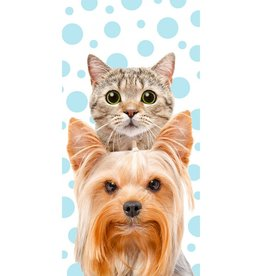 Kat & Hond Handdoek