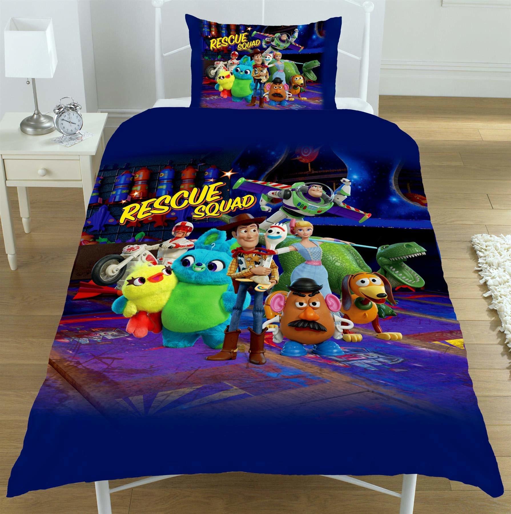Disney Pixar Toy Story 4 Junior Dekbedovertrek Rescue Squad