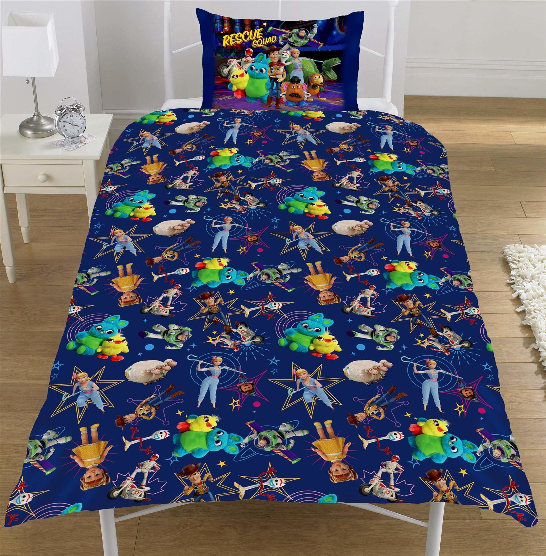 Disney Pixar Toy Story 4 Junior Duvet Cover Set Rescue Squad - Copy