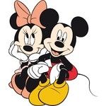 Mickey Mouse en Minnie Mouse