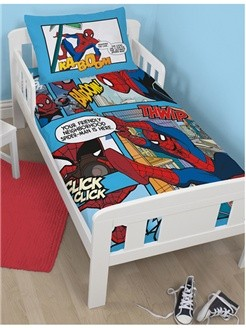 Marvel Spiderman Dekbedovertrek Junior