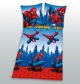 Marvel Spiderman Dekbedovertrek  Flanell