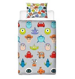 Disney Pixar Emoji Duvet Cover Set