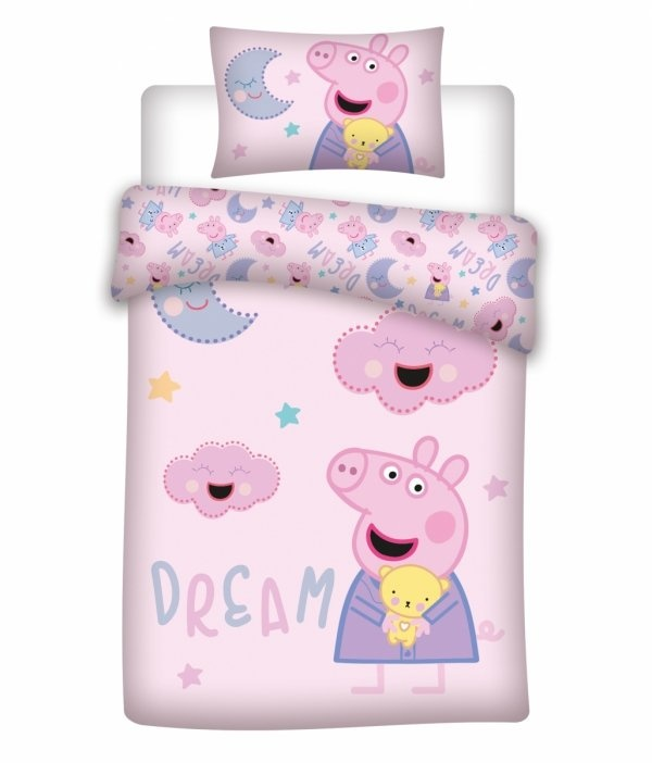 Peppa Pig Peppa Pig Dekbedovertrek Dream