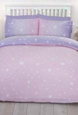 CharactersMania Starburst DOuble Duvet Cover Set Blush