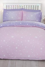 CharactersMania Starbust DOuble Duvet Cover Set Blush