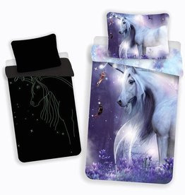 CharactersMania Mystical Unicorn Duvet Cover Glow in the Dark