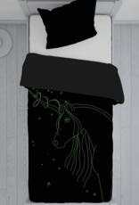 CharactersMania Mystical Unicorn Duvet Cover Glow in the Dark