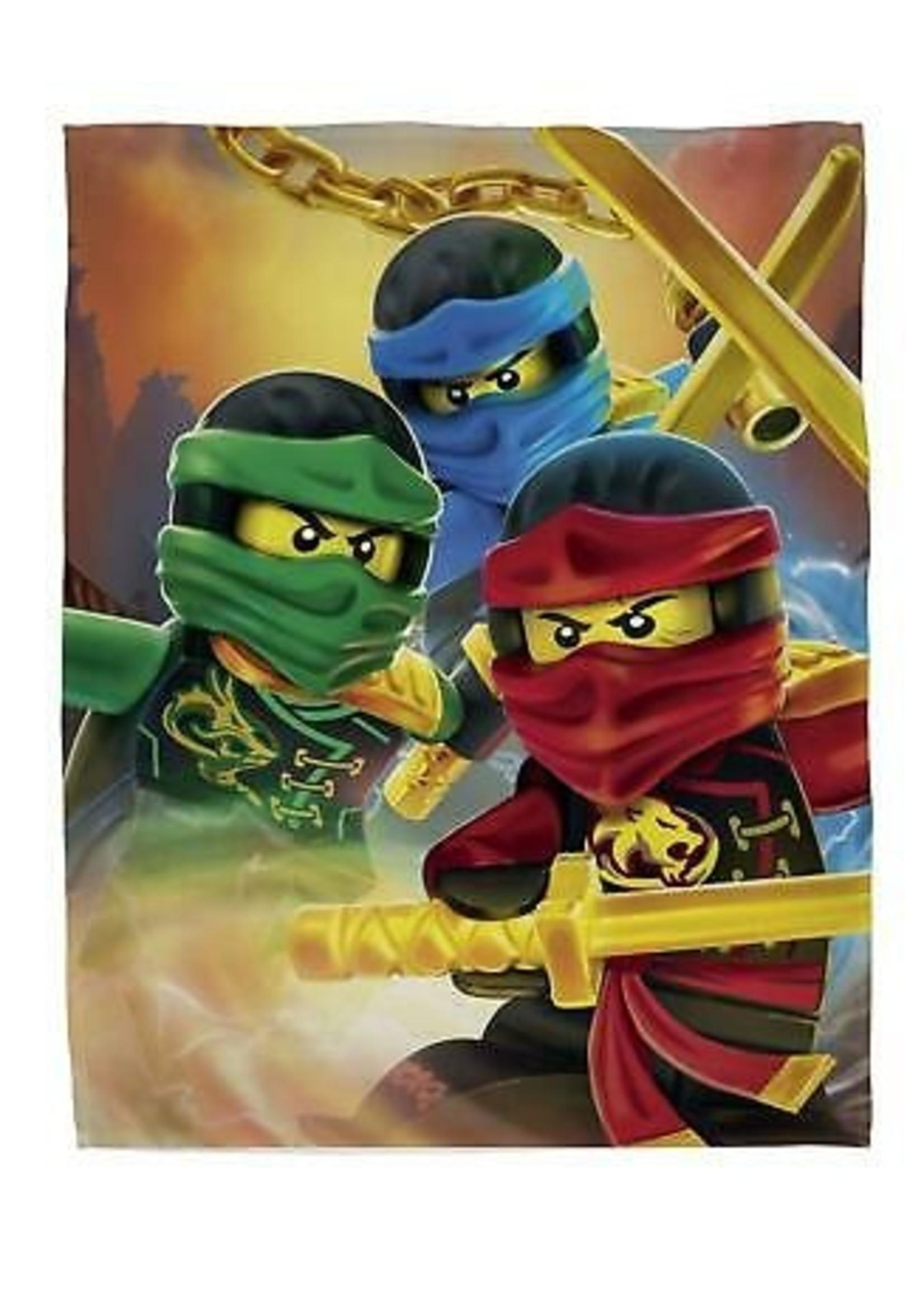 Lego Ninjago Fleece Deken Ready