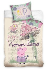 Peppa Pig Peppa Pig Dekbedovertrek Wonderland