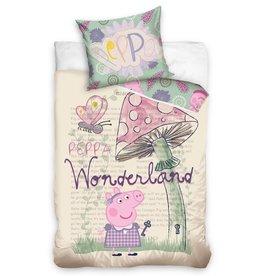 Peppa Pig Dekbedovertrek Wonderland
