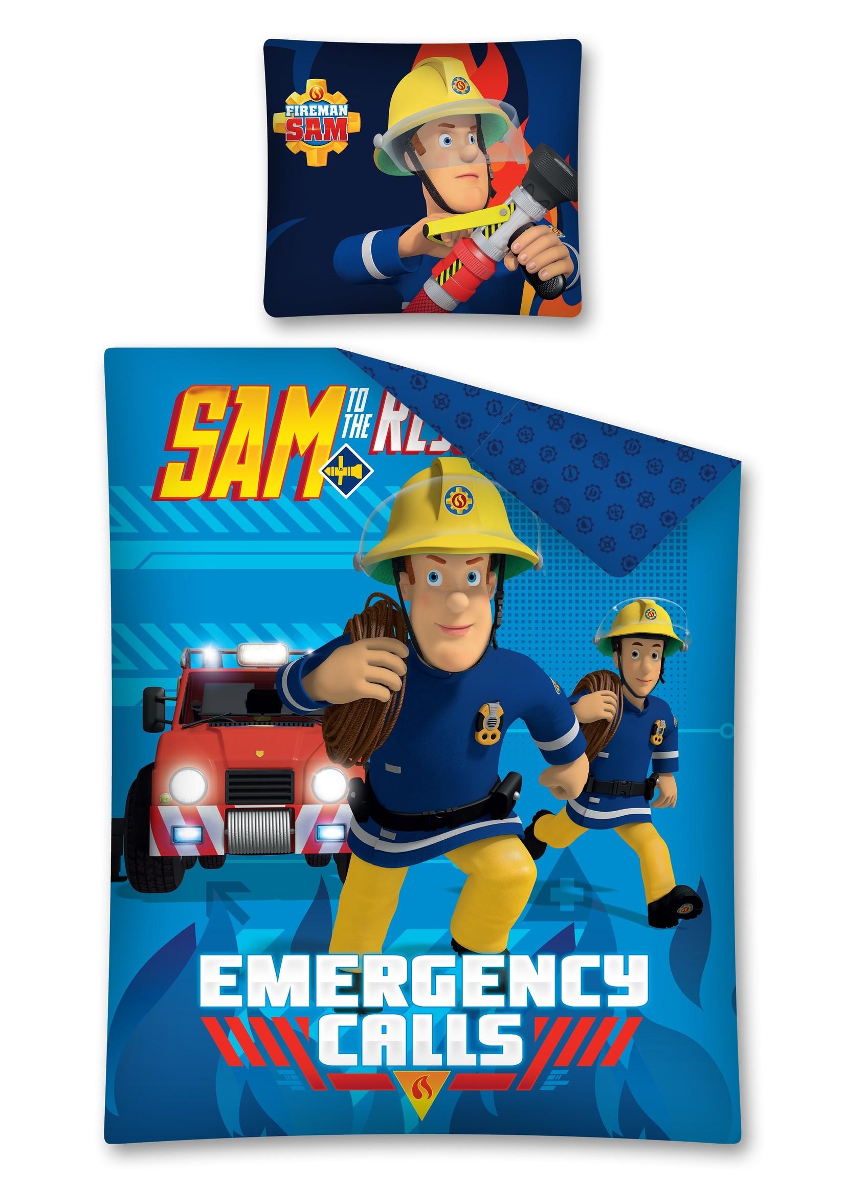 Brandweerman Sam Brandweerman Sam Dekbedovertrek Emergency