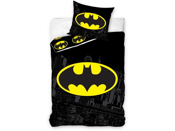 DC Comics Batman Duvet Cover Set Black