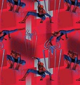 Marvel Spiderman Towel Beach Red