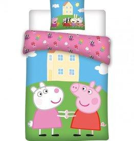 Peppa Pig Dekbedovertrek Suzy & Peppa