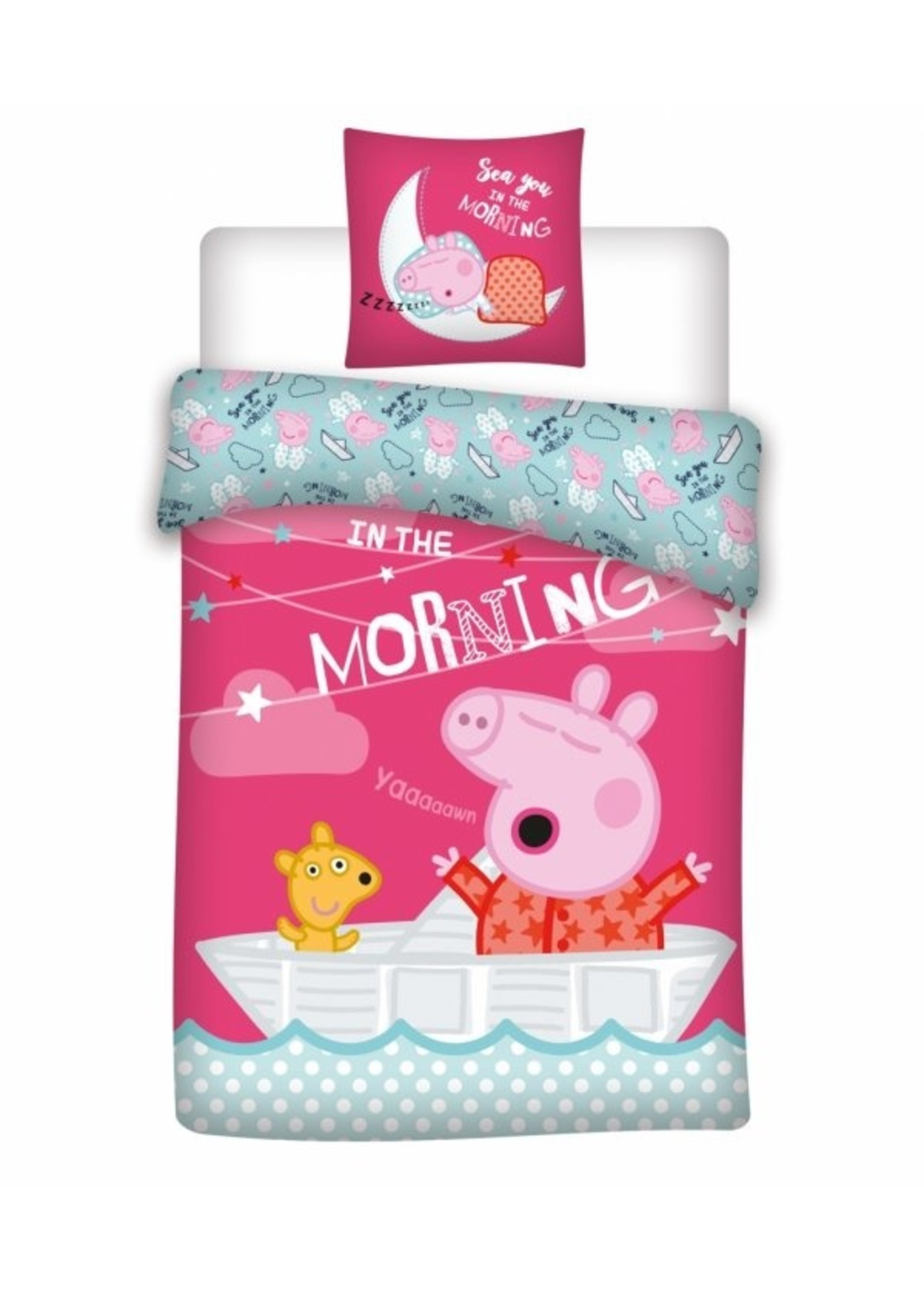 Peppa Pig Peppa Pig Dekbedovertrek Morning