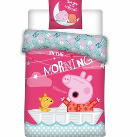 Peppa Pig Dekbedovertrek Morning