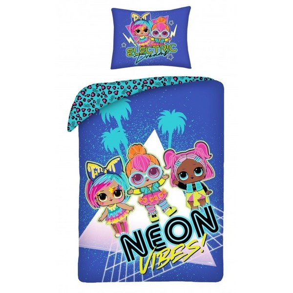 L.O.L. Surprise L.O.L. Surprise Duvet Cover Set Neon
