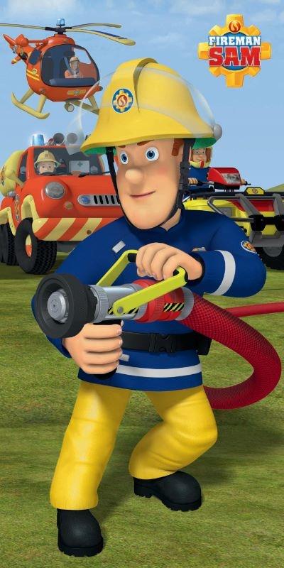 Firefighter Sam Towel
