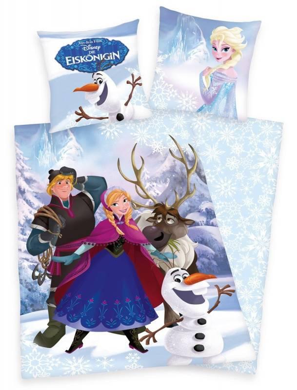 Disney Frozen Dekbedovertrek IjsKoningin DF06002-135