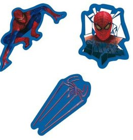 SPIDERMAN DECORATIE FOAM STICKER SB19017