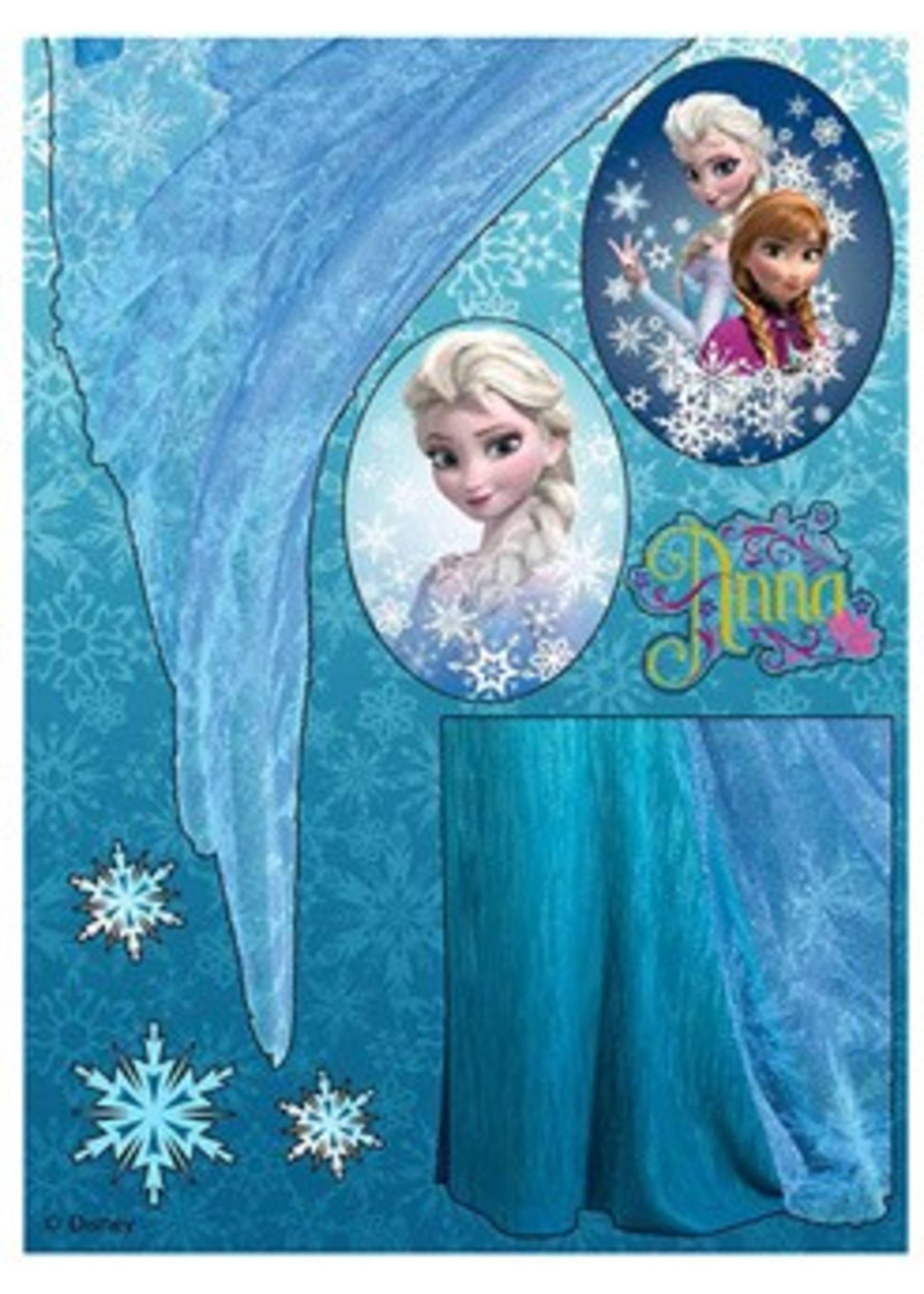 Frozen Sticker Elsa FZ5317755