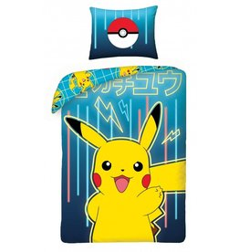 Pokémon Dekbedovertrek Pikachu