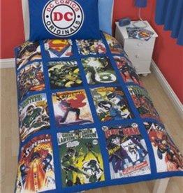 DC Superheroes Dekbedovertrek